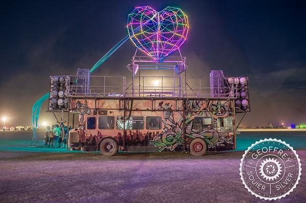 Burning Man Art Cars