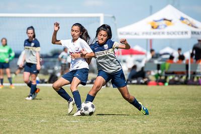 170513 - Pajaro Valley YSC PV United @ Union FC (03 Girls U14)