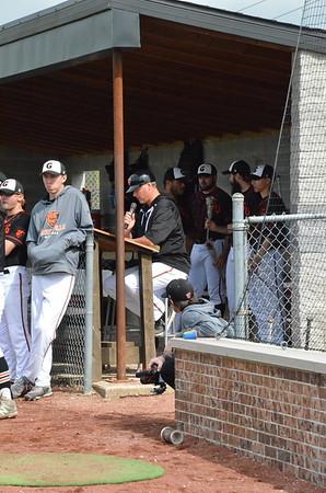 GU Baseball Senior Day