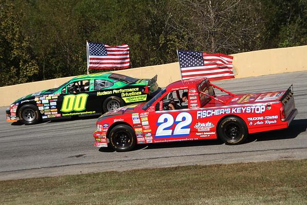 Kentucky Motor Speedway; Scott Velotta Bluegrass Classic 125 Memorial Race