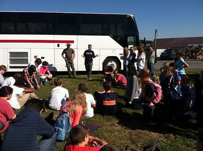 Grade 9 Polyface Farm Field Trip