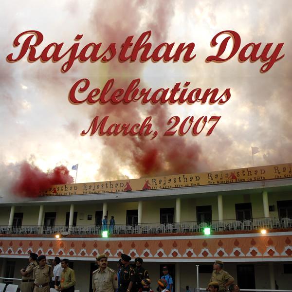 Rajasthan Diwas, Jaipur, Rajasthan, Mar 2007