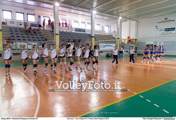 Abruzzo - Alto Adige [F] #TDRVolley2016
