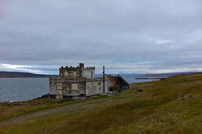 Forlatte bygninger på Island