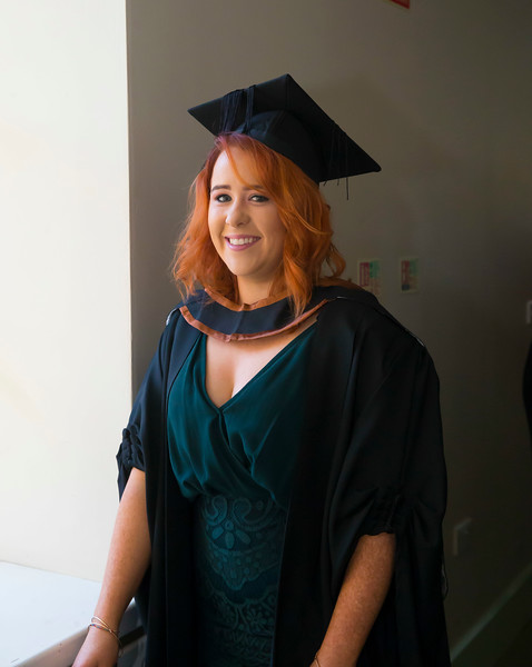 01/11/2018. Waterford Institute of Technology (WIT) Conferring Ceremonies 2018. Pictured is Shauna McGrath Graiguenamanagh. Picture: Patrick Browne