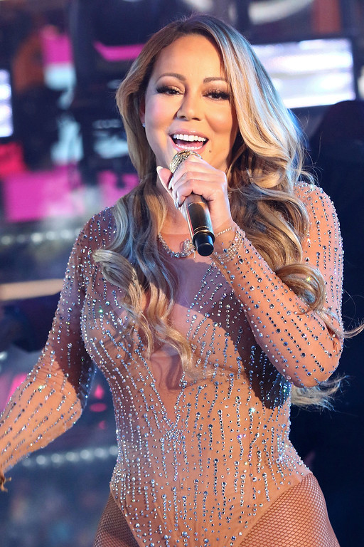 . Mariah Carey performs at the New Year\'s Eve celebration in Times Square on Saturday, Dec. 31, 2016, in New York. (Photo by Greg Allen/Invision/AP)
