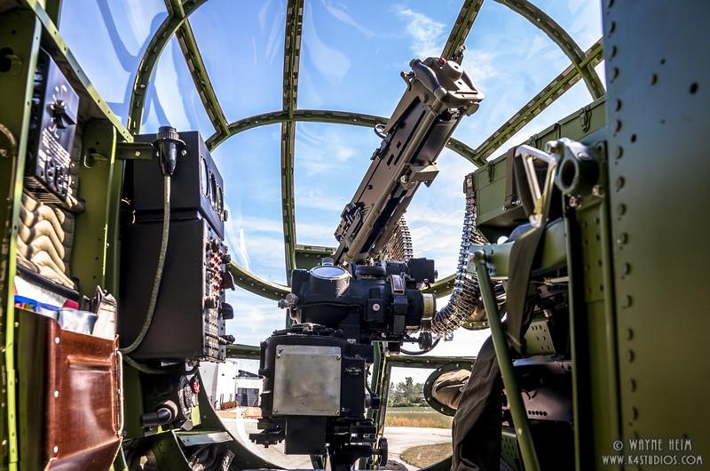 Inside Gun Turret  1 Photography by Wayne Heim