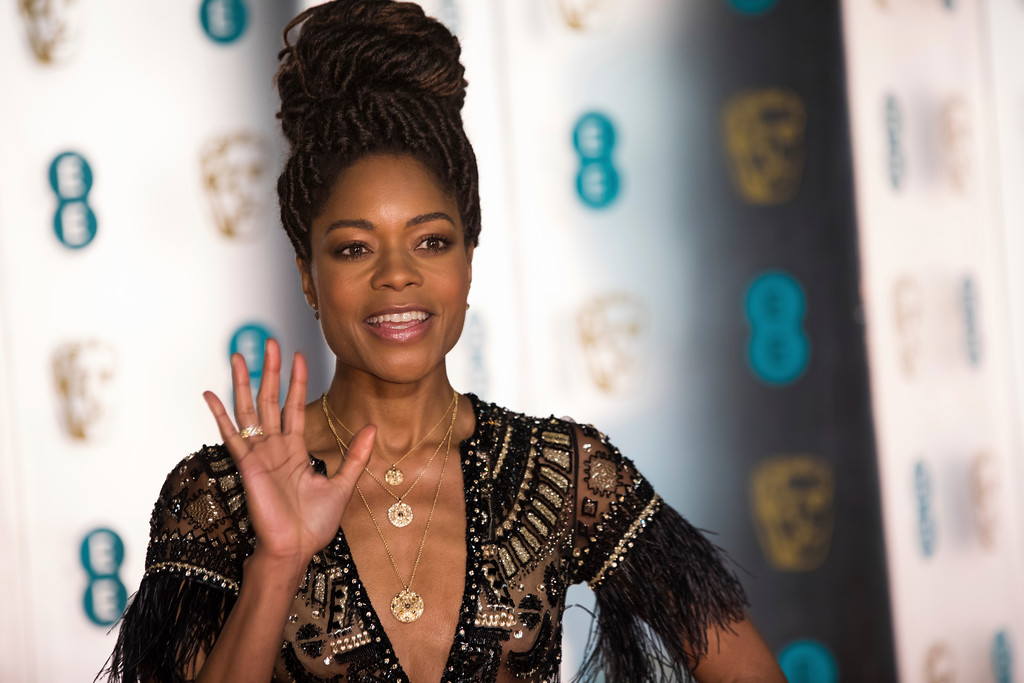 . Naomi Harris poses for photographers upon arrival at the BAFTA Film Awards after-party, in London, Sunday, Feb. 18, 2018. (Photo by Vianney Le Caer/Invision/AP)