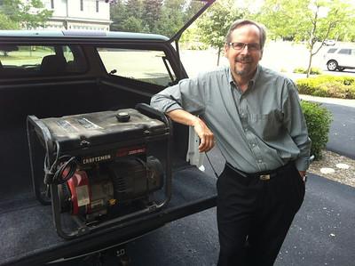 2012-07-05 Dan Gilbert Generator Donation