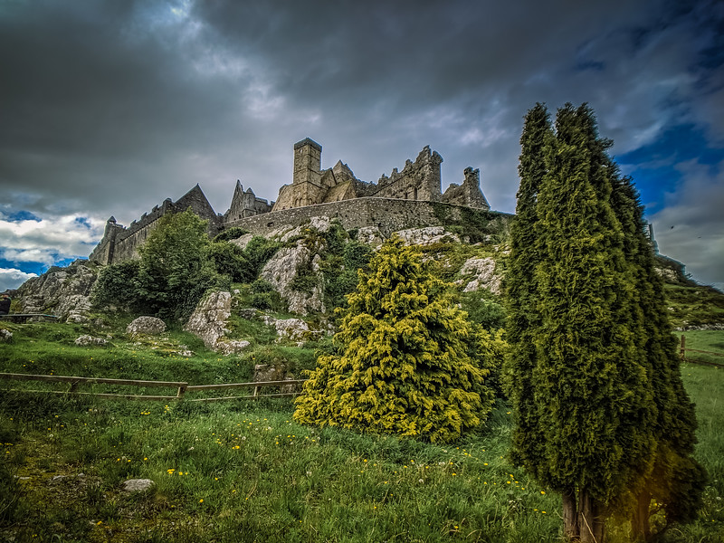 The Rock of Cashel ended our day's adventures