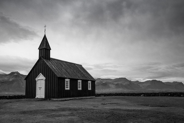 Iceland in Black and White