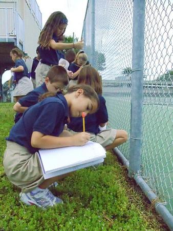 3rd grade Science Fun October 2011