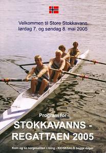 2005 - Stokkavannsregattaen med norges cup