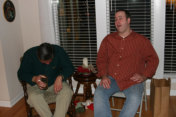 Christmas Eve with the Arbizzanis - December 24, 2006