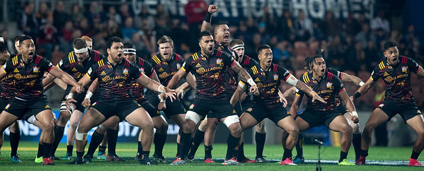 Haka during game 6 of the British and Irish Lions 2017 Tour of New Zealand,The match between  The Chiefs and British and Irish Lions, FMG Stadium, Hamilton, Tuesday 20th June 2017 (Photo by Kevin Booth Steve Haag Sports)  Images for social media must have consent from Steve Haag