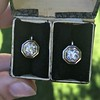 1.65ctw Old European Cut Diamond Dormeuse Earrings 4