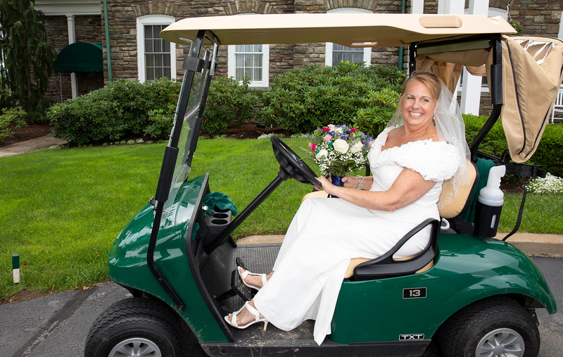 Bride in Golf Cart.jpg