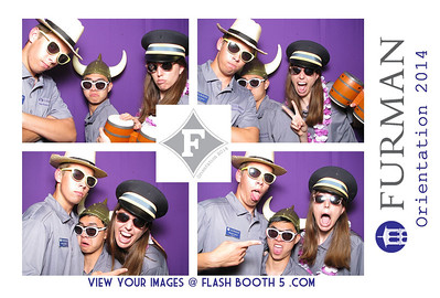 Furman Orientation 2014