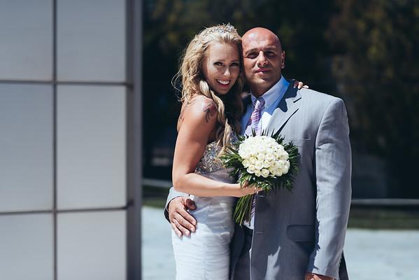Maris & Xenofon 🧡 Wedding in Vravrwa, Athens