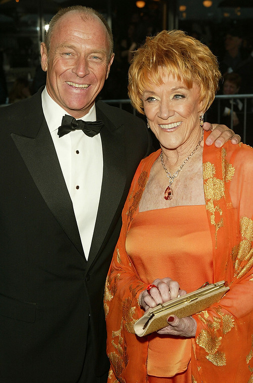 . Actor Corbin Bernsen and actress Jeanne Cooper arrive at the 32nd Annual Daytime Emmy Awards at Radio City Music Hall May 20, 2005 in New York City.  (Photo by Peter Kramer/Getty Images)