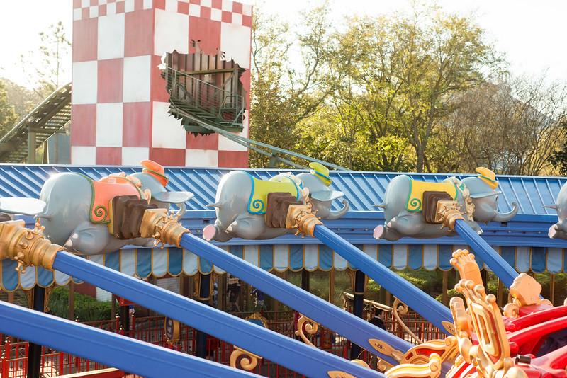 More Empty Dumbos - Magic Kingdom Walt Disney World
