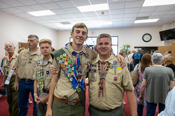 Alex Eagle Scout Ceremony