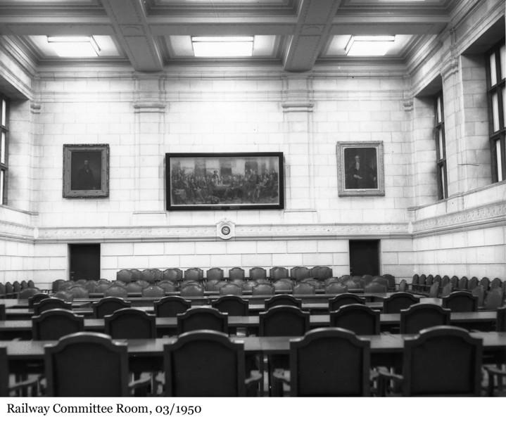 Railway Committee Room - La Salle des chemins de fer, 03/1950