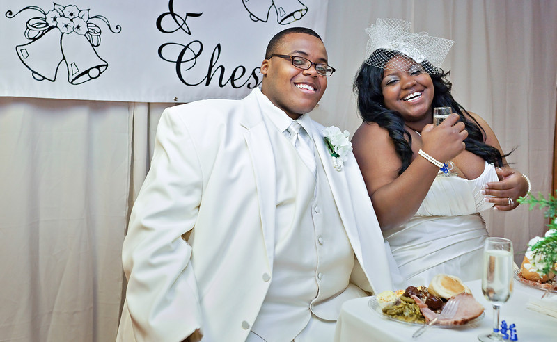 Jasmine and Chester Jr.