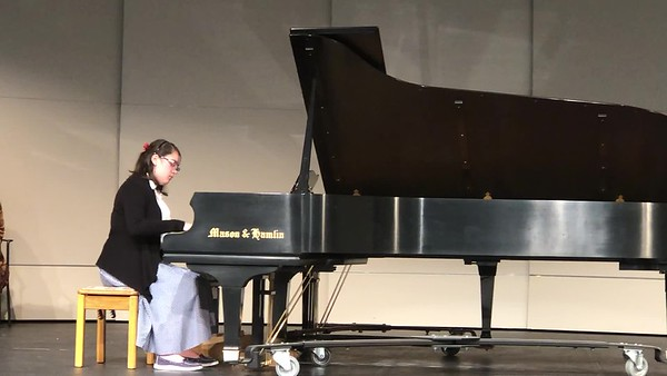 Eliana's Fall 2018 recital