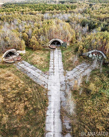 """Smirnykh, Sakhalinskaya Oblast', Russia """" Originally, the airfield on this place was built in the early 20th century for the Imperial Japanese Army and was called Keton. It consisted of a 1200 m long concrete runway, gravel taxiways and about 20 equipped"""