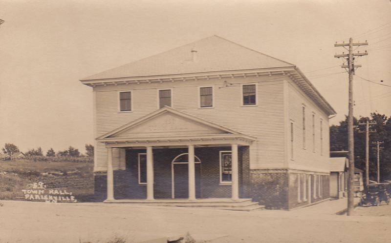 Parishville, NY - Town Hall 1959.jpg