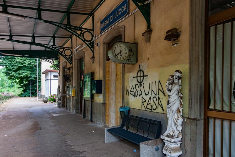 Bagni di Lucca Railway Station