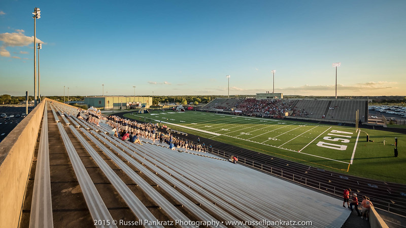 The first 3 images in this gallery of Toney Burger Stadium are special because they are perfectly exposed images which is very difficult for cameras to do when there is such a broad range of light conditions as there is just before sunset. These three images are HDR images (High Dynamic Range). They are made from taking several images with a range of exposures, then combining them in my editing software so that every pixel in the image is optimally exposed. The result is very much like what your human visual system sees when it takes in the scene. It is decidedly not photographic looking, and this technique has many critics. I have always tried to show my audience how I see the world. It is, after all, my art, so here it is. Take it or leave it.