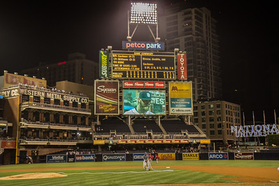 San Diego Padres 1, Philidelphia Phillies 0