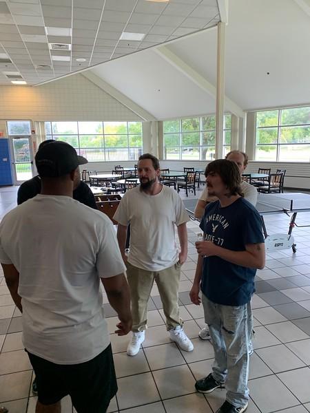 Robbie Robinson engaging a small group at Urban Alliance.jpg