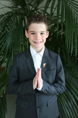 William's First Communion
