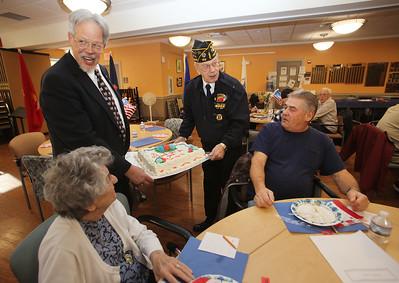 Westford Senior Center veterans lunch 110917