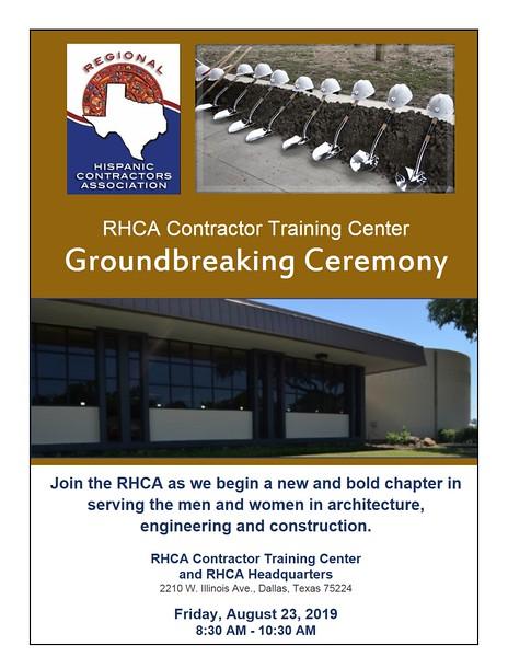 RHCA Groundbreaking 08 23 2019