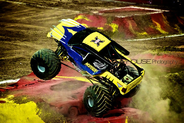 CLAYHOUSE @ MONSTER JAM 2012