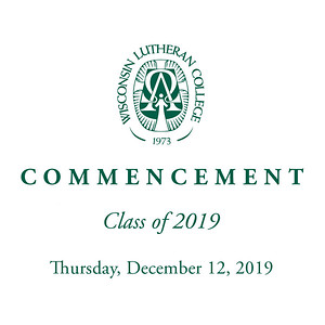 WLC Fall 2019 Commencement