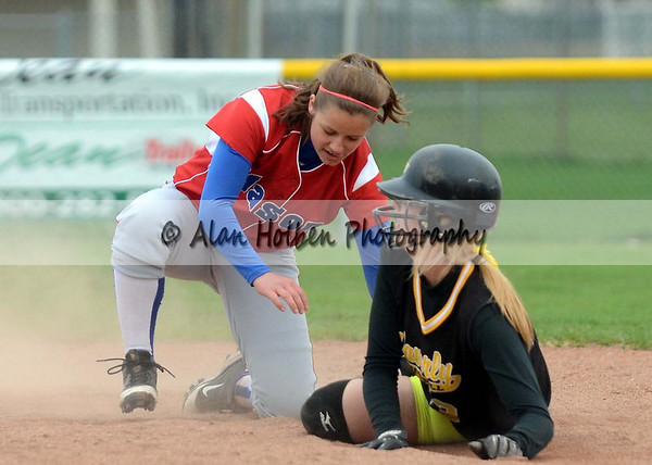 Varsity Softball - Mason at Waverly - May 2