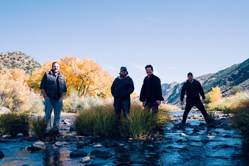 The Crew at the Rio Grande