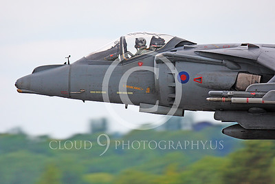 British RAF  BAE Harrier Military Airplane Pictures