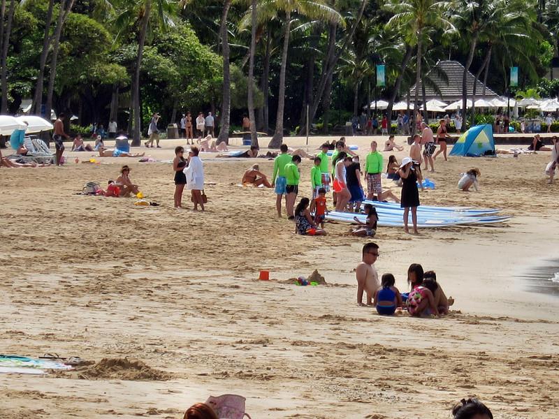 Hilton Hawaiian Village Hotel and surrounding area