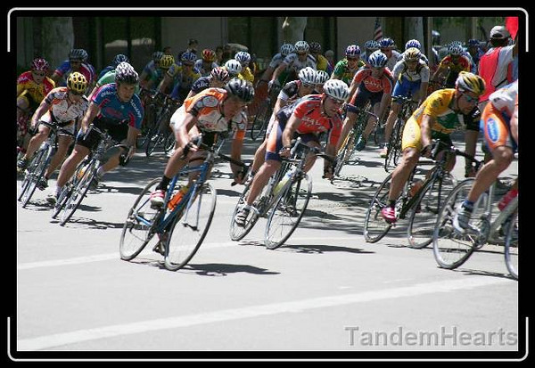 Riding in the peloton takes nerves of steel.
