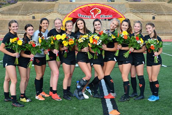 TP Girls Soccer Senior Night, 5-14-21