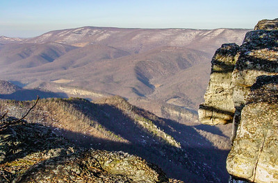 north fork mountain, march 2003