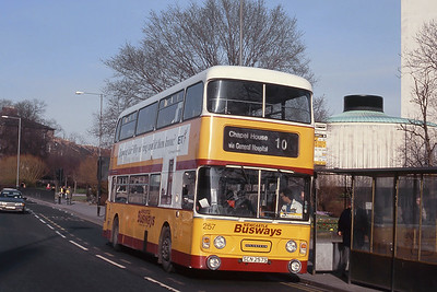 Busways Travel Services Buses and Coaches in the 1980's and 1990's ; from Tyne and Wear to Stagecoach