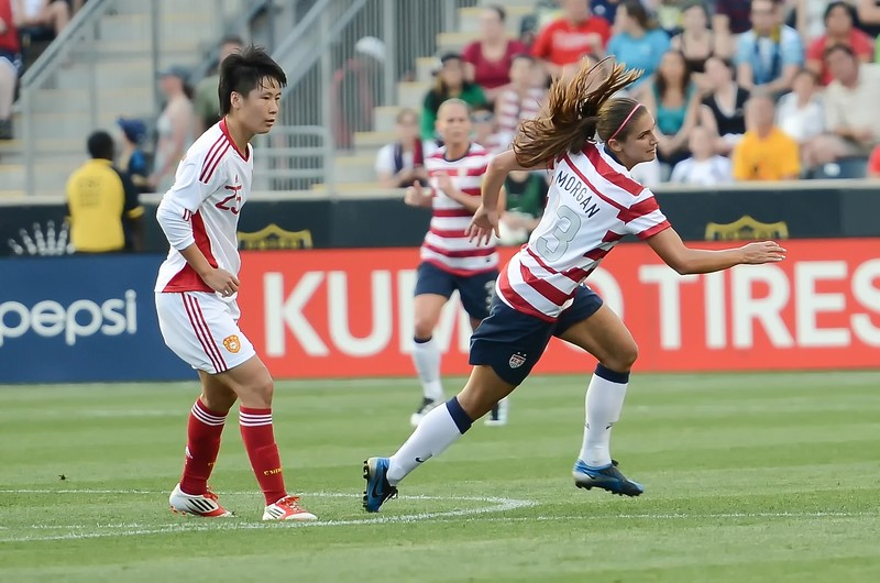 USA Womens National Team Vs. China