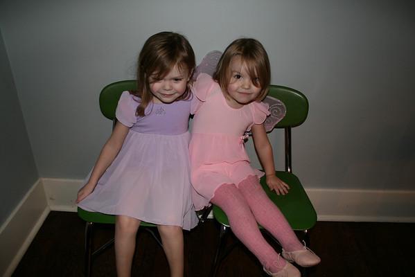 Ballerinas and Bedtime Rituals - 2009